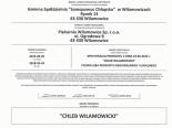 Certyfikat Zgodności - Chleb Wilamowicki