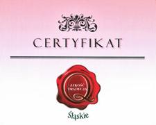 Otrzymane certyfikaty