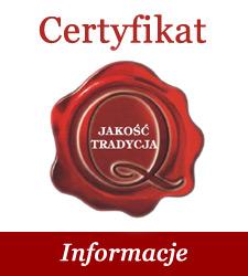 Certyfikat - informacje